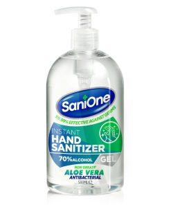 500ml Sanitiser Aloe Vera Gel 70% Alcohol Antibacterial gel non greasy