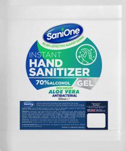 SaniOne Aloe Vera Antibacterial Hand Sanitiser Gel 5 Litres